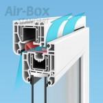Airbox STANDART airbox-service.ru приточный клапан на окна и пластиковые ПВХ стеклопакеты отзывы купить Саратов Энгельс